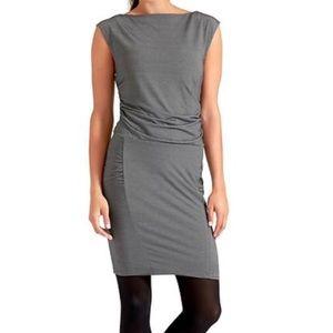 Athleta Microstripe Westwood Dress